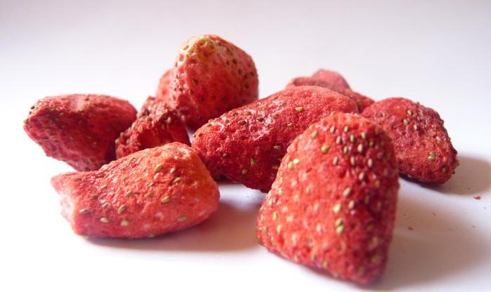 Gevriesdroogde aardbeien