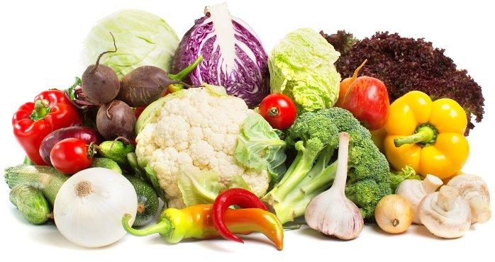 Vezelrijke groentes
