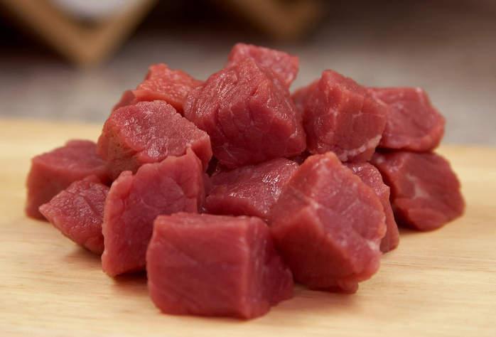 Stukjes rundvlees