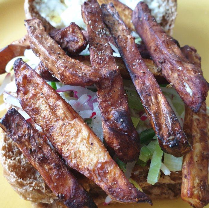 Vegetarische shoarma