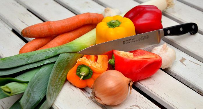 Verzameling groentes